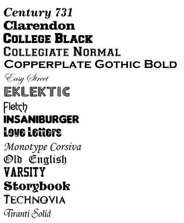 Fonts With Custom Creations Stedman Nc
